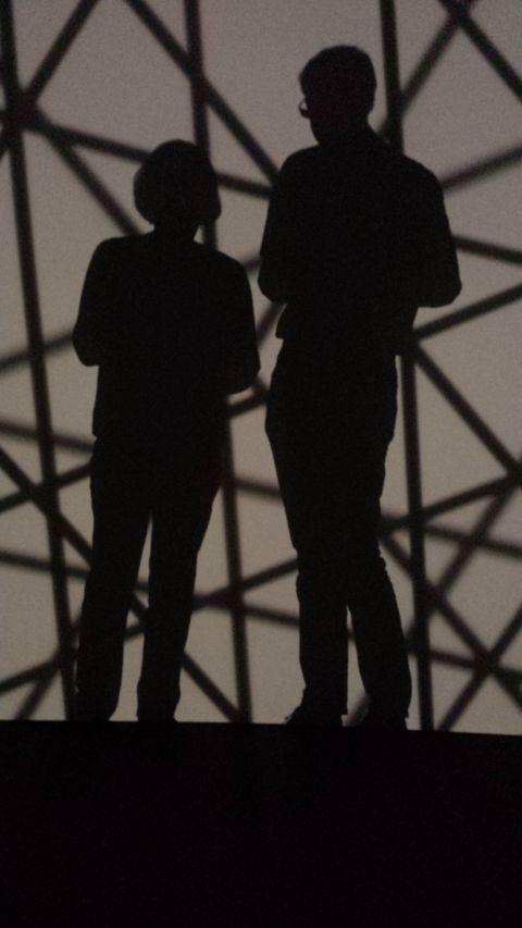In Februari gingen we naar Parijs, waar we een prachtige tentoonstelling van Olafur Eliasson zagen