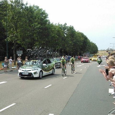 We zagen de start van de Tour in juli
