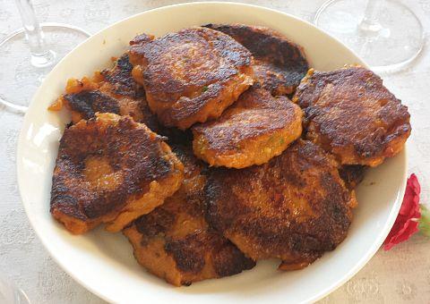 We maakten zoete aardappelkoekjes volgens een recept van Ottolenghi