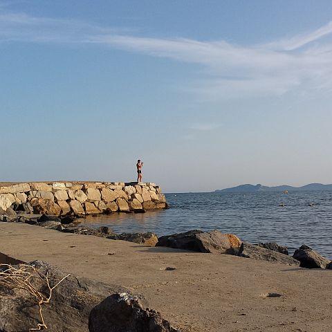 En we reden verder naar La Londe les Maures. Om te zwemmen en te zonnen enne... foto's te maken.