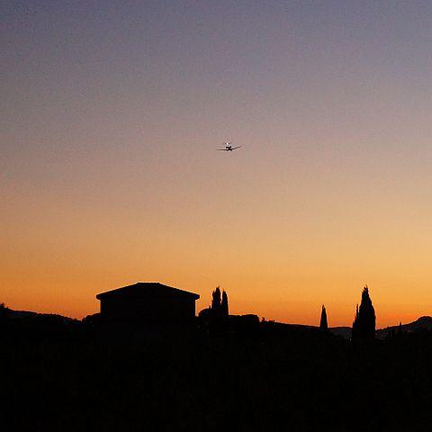 En van de zonsondergang