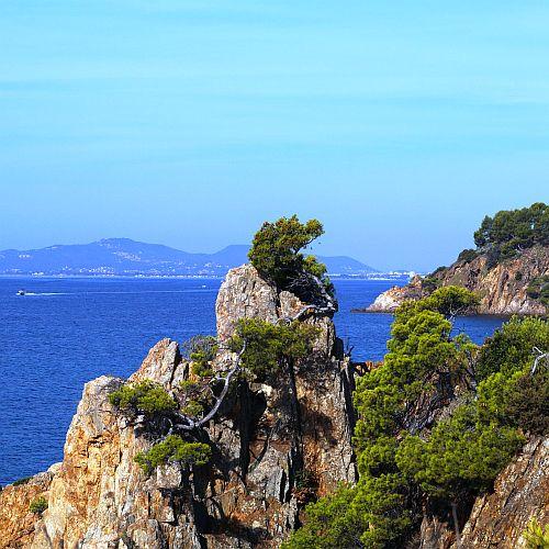Ook aan de Middellandse zee, waar we daarna -gewoontegetrouw- heen gingen.